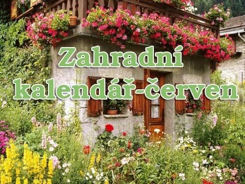 Zahradní kalendář-červen
