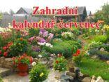 Zahradní kalendář-červenec
