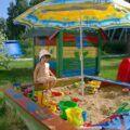 Dětský koutek na zahrade