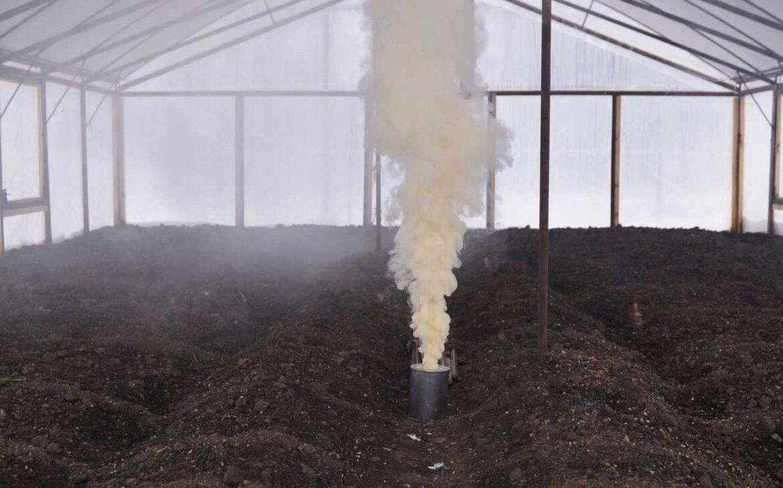 Dezinfekce zeminy