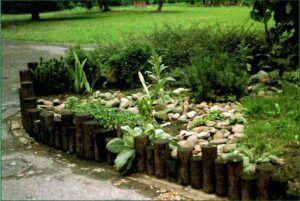 Dřevěne palisády